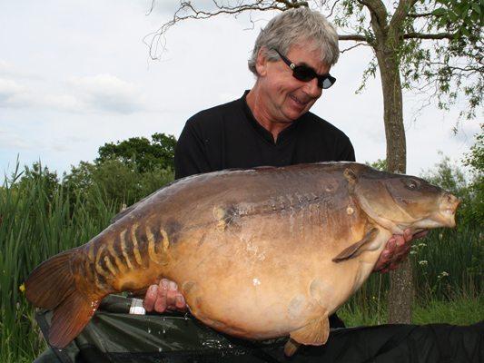 Nash Copse Lake Carp Fishing 52lb 2oz